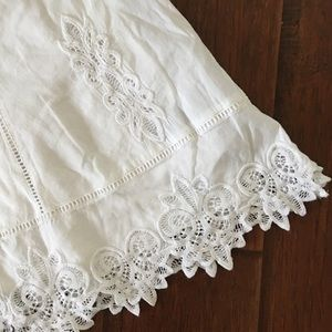 Lauren Ralph Lauren Skirts - Lauren Ralph Lauren Lailah White Lace Skirt M